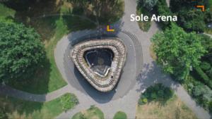 Imagefilm Bad Essen Tourismus Sole Arena Drohne