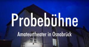 Still aus Blickfänger Porträtfilm Probebühne Osnabrück e.V. Titel