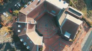 Blickfänger Drohnenflug